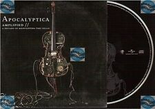 APOCALYPTICA AMPLIFIED PROMO CD SAMPLER card sleeve