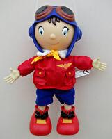 "2011 Noddy In Toyland 12"" Airplane PILOT NODDY Soft Plush Toy"