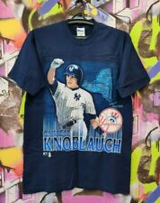 New York Yankees Chuck Knoblauch Baseball Shirt Jersey Vintage 90s Mens Size L