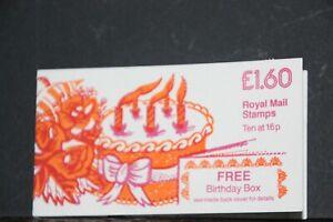 SG FS1Ba. £1.60 Birthday Box Right Margin corrected rate good perfs