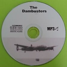 The Dambusters WW2 MP3 CD Old Time Radio Drama OTR Over 13 Hours