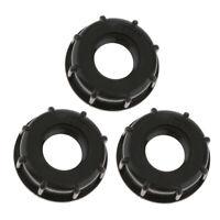 IBC Tote Tanks Drain 1 Zoll 3pcs Wassertankanschluss Schott Tank Fitting,