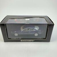 Minichamps 1:43 430038021 1999 Mercedes Benz CL 500 Coupe - blue metallic