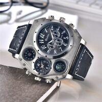 Oulm 1349 nouvelles montres de Sport hommes Super grand cadran mâle horloge à