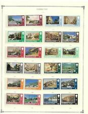 Gibraltar # 241-272 MNH On Album Pages (1971) - SEE!!!