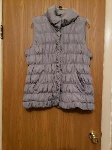 Women's Puffer Vest- Coldwater Creek, Pre-owned, Size-XL