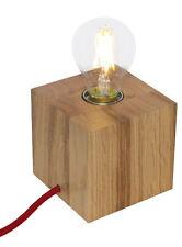Moderne ungewöhnliche Lampen aus Holz