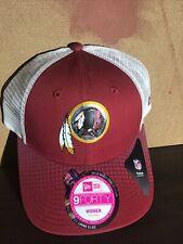 Womens Washington Hat NFL New Era Mesh Draft Adjustable Cap 2015