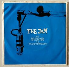 """THE JAM - JUST WHO IS THE 5 O'CLOCK HERO - 7"""" EP 1982 - GERMANY - EX+ / VG+"""