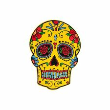 Ex Love Sugar Skull (Iron on) Embroidery Applique Patch Sew Iron Badge