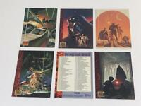 Topps Star Wars Galaxy Series One (1993) Lot of 6 Trading Cards Darth Vader