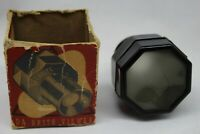 Vintage black Swirl Bakelite DA-BRITE VIEWER MOSTOW CO. CHICAGO USA