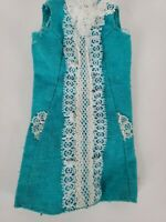 VINTAGE FRANCIE 1967 ICED BLUE  #1274 Shift DRESS Barbie