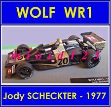 1/43 - WOLF WR01 : Jody SCHECKTER - 1977 - Die-cast - 1/43 FORMULA 1