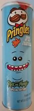 NEW SPECIAL EDITION PRINGLES RICK AND MORTY MEESEEKS POTATO CHIPS 5.5 OZ CAN