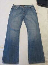 ROCK & REPUBLIC Denim Jeans Mens 34 W x 33 L (#19) Factory distress