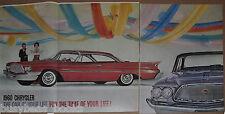 1960 CHRYSLER 3-page advertisement, Large photo