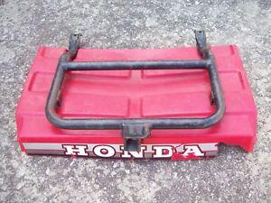 Honda atv atc Big Red 250es  rear storage trunk lid cover carrier mount rack