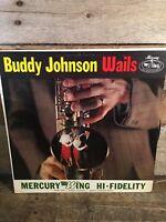 BUDDY JOHNSON Wails LP Record Album Vinyl