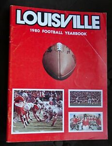 1980 University of Louisville Cardinals Football Yearbook (some pages CUT)