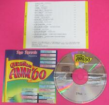 CD RED RONNIE favolosi anni 60 1966 14 DALLA ADAMO LEALI DEL TURCO(C35*)no lp mc