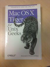 """Livre en anglais sur Apple """"MAC OS X TIGER FOR UNIX GEEKS"""""""