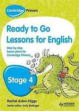 Cambridge Primary Ready to Go Lessons for English Stage 4, Very Good Condition B