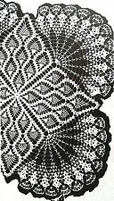 911 Vintage Mail Order PINEAPPLE TV COVER/CLOTH Pattern to Crochet (Reprint)