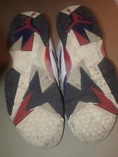 Mens Air Jordan 7 Retro 304775-123 Red/White/Blue Size 8.5