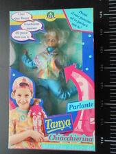 Tanya Chiaccherina Talk Parlante Giochi Preziosi Vintage Doll