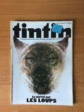 JOURNAL DE TINTIN n° 34 : la vérité sur les loups