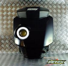 Honda Grom/ MSX125 Petex LED headlights Jah-A type Black color  **Fiberglass