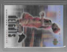 LEBRON JAMES 2003 UPPER DECK 3D GREATER HEIGHTS 2 CARD LOT