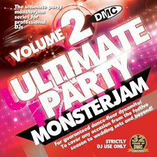 DMC Ultimate Party Monsterjam Vol 2 Continuous mixed DJ CD