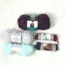 Yarn Lot of 5 Loops & threads Baby Bee Country Loom Partial Skeins Sweet Delight