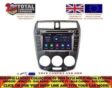 AUTORADIO DVD GPS NAVI BT WIFI ANDROID 9.0 4GB DAB HONDA CITY 2008-12 MAN RV5777