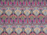 "LIBERTY OF LONDON COTTON FABRIC DESIGN ""Ianthe"" 2.4 METRES PINKS (240 CM)"
