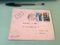 Republic Gabonaise  to France Airmail stamps Cover Ref 51425