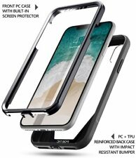 Black Case For Apple iPhone X Poetic【Guardian】360 Degree Protection Case