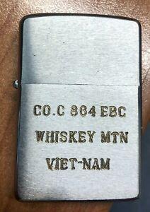 zippo vietnam war era WHISKEY MOUNTAIN