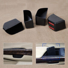 4Pcs DOOR STORAGE BOX HANDLE BIN CUP PHONE CONTAINER FOR 2008-2012 HONDA ACCORD