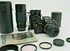 Contax RTS+Sigma Zoom Master f2,8 35-70 mm+Sigma f3,5-4,5 70-250mm.Ottimo Stato-