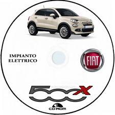 """Fiat 500X (FCA).Manuale Officina """"IMPIANTO ELETTRICO"""""""