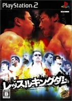 UsedGame PS2 Wrestle Kingdom from Japan