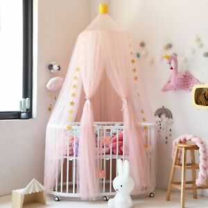 Fashion Baby Bed Canopy Bedcover Mosquito Net Princess Curtain Bedding Dome Tent