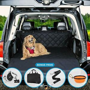 Smirly Pet Cargo Liner, Dog Seat Cover For Cars, Trucks And SUVs,