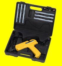 POWX146 Heißklebepistole kabellos inkl. 6 Klebesticks + Koffer + Ladestation NEU