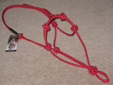 THOMEY NATURAL HORSE TRAINING~4 KNOT HALTER~ $18.94~GREAT FOR GROUNDWORK~RED