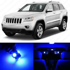 14 x Ultra Blue LED Interior Light Package For 2011 -2014 Jeep Grand Cherokee