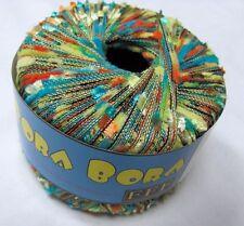 CLOSE-OUT! Filati FF BORA BORA Italian Multicolor Textured Accessory Yarn #489
